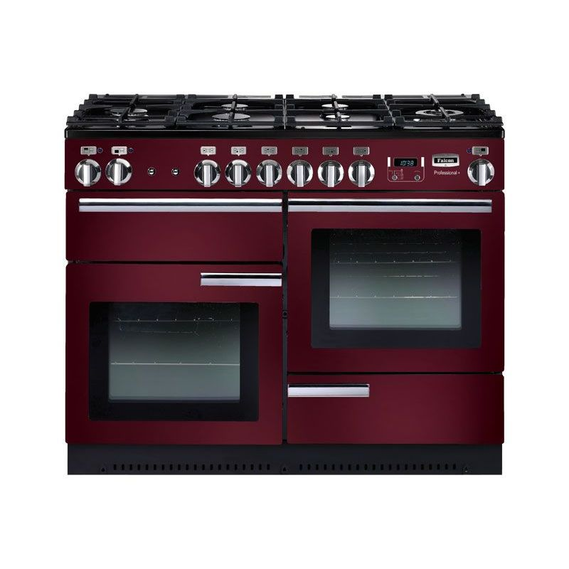 falcon prop110dfcyc cuisini re falcon professional 110 rouge airelle. Black Bedroom Furniture Sets. Home Design Ideas