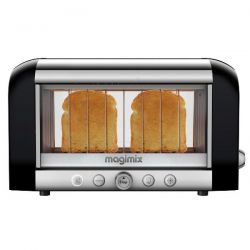 MAGIMIX Grille-pain Toaster Noir - Vision 11541