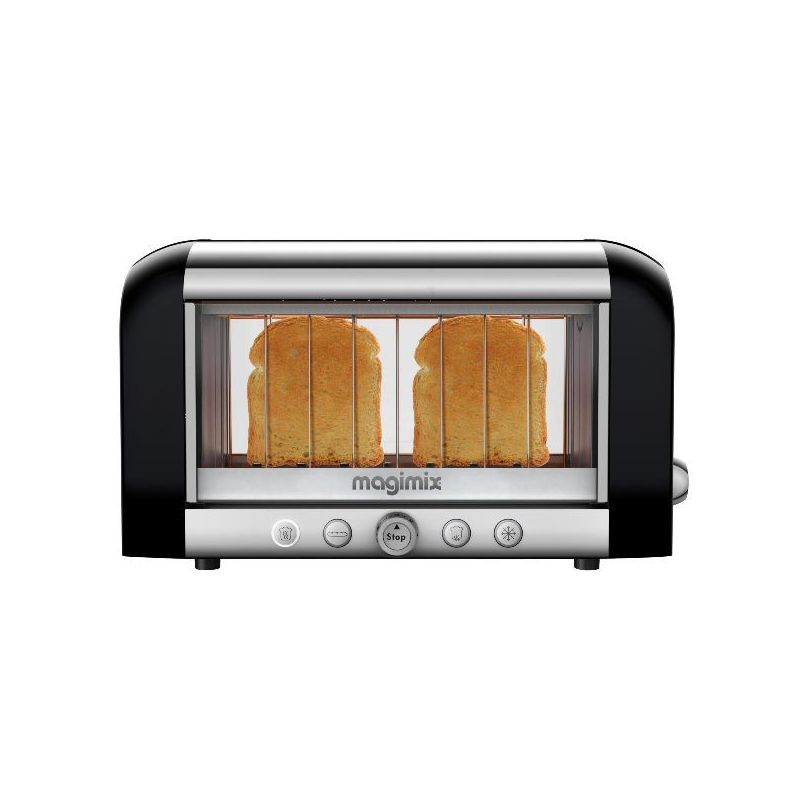 magimix grille pain toaster noir vision 11541 lyon paris avis. Black Bedroom Furniture Sets. Home Design Ideas