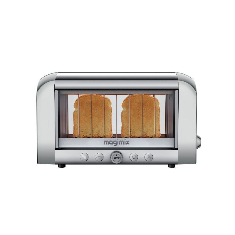 Magimix grille pain toaster brillant vision 11534 lyon paris avis - Grille pain magimix vision ...