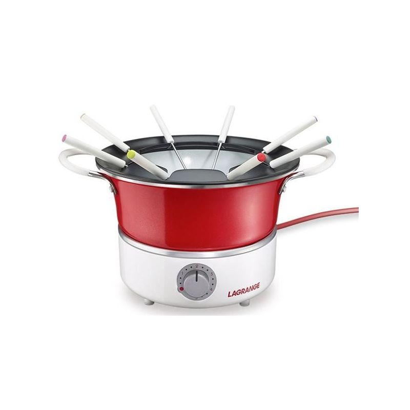 Lagrange 349201 fondue rouge & blanc - festiv'