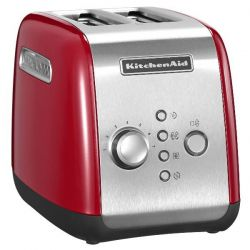 KITCHENAID - Grille pain 2 tranches rouge