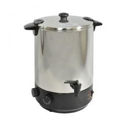 KITCHENCHEF Stérilisateur électrique inox avec robinet et minuteur