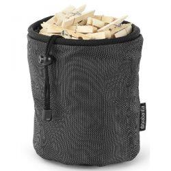 BRABANTIA Sac pour pinces à linge - Premium Black