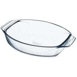 PYREX Plat à four ovale 30 x 21 cm / 2 L - Optimum