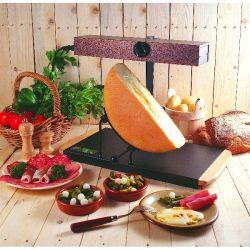 BRON COUCKE Rampe à raclette 1/2 meule - Montagnard