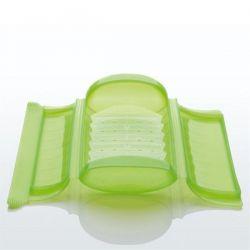 LEKUE Papillote en silicone Verte + grille - 3/4 personnes