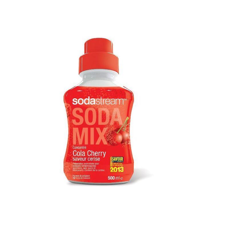 SODASTREAM Concentré 500 ml - Saveur Cola Cherry / Cerise