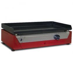 SIMOGAS Plancha électrique 45 cm - Rainbow Rouge