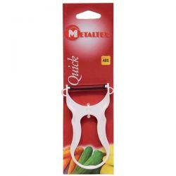 METALTEX Éplucheur rase légumes en acier