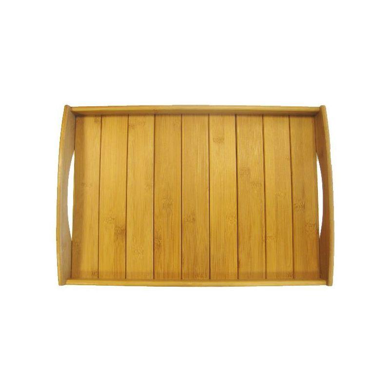 point virgule plateau de serveur 48 x 33 x 6 cm bamboo. Black Bedroom Furniture Sets. Home Design Ideas