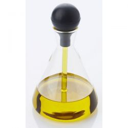 POINT VIRGULE Huilier en verre avec pipette 220 ml