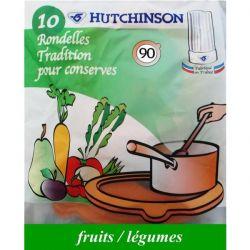 HUTCHINSON Rondelle caoutchouc Sachet de 10 - 65 x 95 x 3