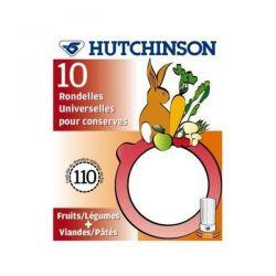 HUTCHINSON Sachet de 10 rondelles Universelles - Classiques - Diamètre 100 mm