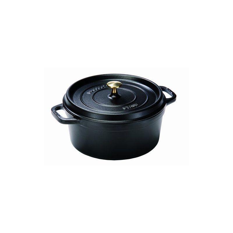 cocottes fonte cocotte fonte staub ronde 20 cm noir 1102025 ovale ronde ceramique pas cher. Black Bedroom Furniture Sets. Home Design Ideas