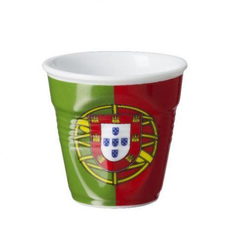Gobelet REVOL 8cl Drapeau Portugal - Froissé - 645013