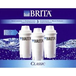 BRITA Lot de 3 cartouches Classic