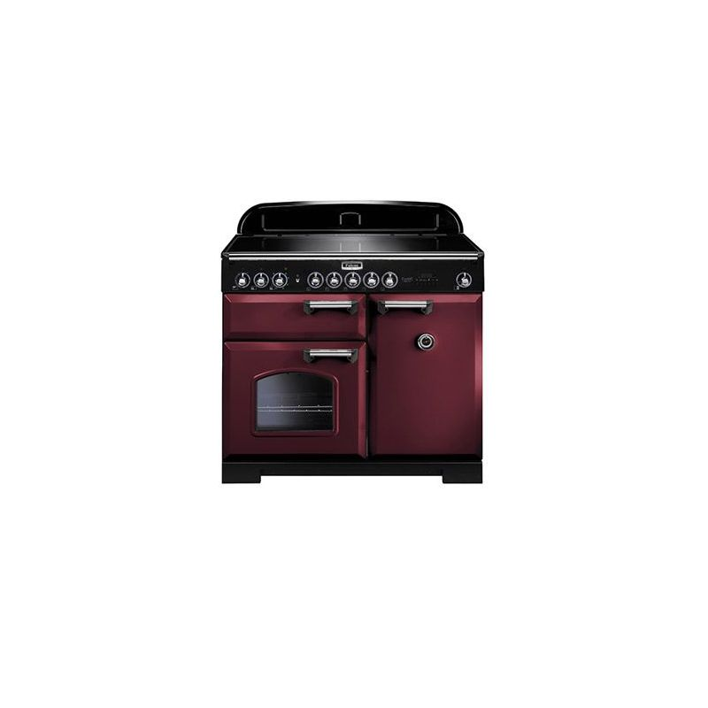 cuisini re falcon classic deluxe induction 100 rouge. Black Bedroom Furniture Sets. Home Design Ideas