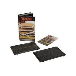 TEFAL Coffret plaques 4 gaufrettes 'snack collection'