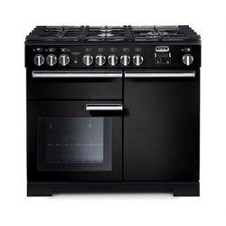 Cuisinière FALCON Professional + 100 deluxe noire - PDL100DFGB/C