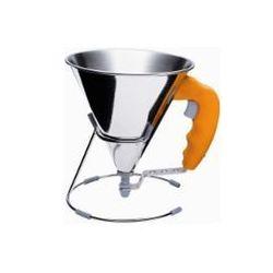 DE BUYER Entonnoir à piston automatique 0.8 L Orange - Kwik