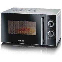 SEVERIN Micro-ondes 20 L Noir & Argent - 7862