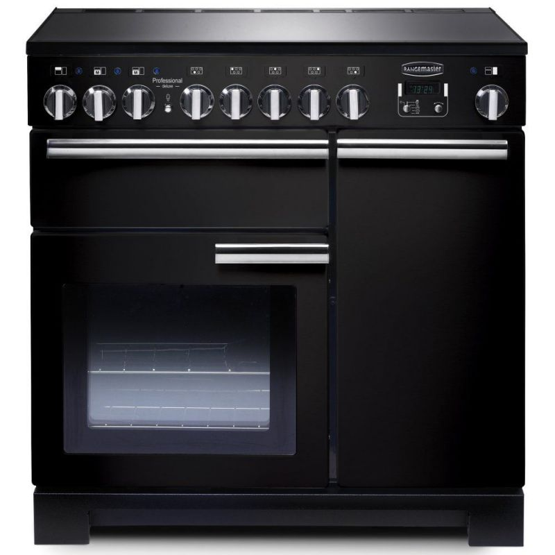 cuisini re falcon professional deluxe 90 induction noire pdl90eigb c. Black Bedroom Furniture Sets. Home Design Ideas