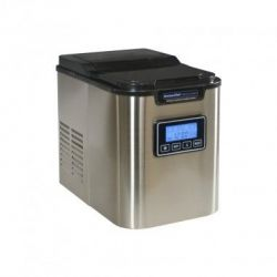 KITCHENCHEF Machine à glaçons inox