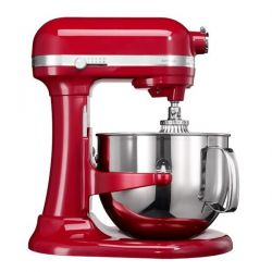 KITCHENAID Robot Artisan 6.9 L Bol Inox rouge empire - 5KSM7580XEER