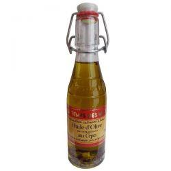 LE TEMPS DES METS Huile d'olive aux Morceaux de Cèpes - 20 cl
