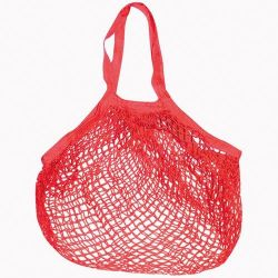 SIDEBAG FILET COTON ROUGE 40x40 CM [-]