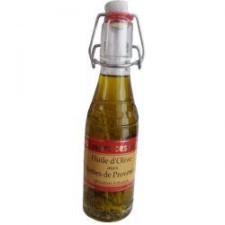 LE TEMPS DES METS Huile d'olive aux Herbes de Provence - 20 cl
