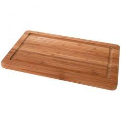COSY & TRENDY Planche à découper en bambou 29 x 19 x 1,8 cm rectangle