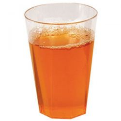 PUBLI EMBAL Lot de 20 Verres octogonaux cristal 25 cl