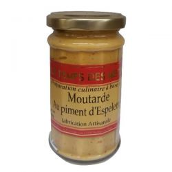 LE TEMPS DES METS Moutarde au Piment dEspelette - 190 g