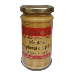 LE TEMPS DES METS Moutarde au Piment d'Espelette - 190 g