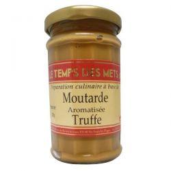 LE TEMPS DES METS Moutarde à la Truffe - 200 g