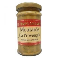 LE TEMPS DES METS Moutarde à la Provençale - 200 g