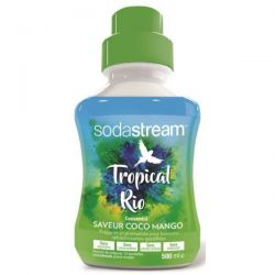 SODASTREAM Concentré 500 ml - Saveur Coco Mangue - Tropical Rio