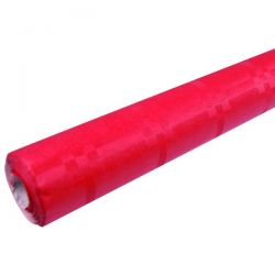 PUBLI EMBAL Nappe en papier Rouge - Rouleau de 6 m x 1,20 m