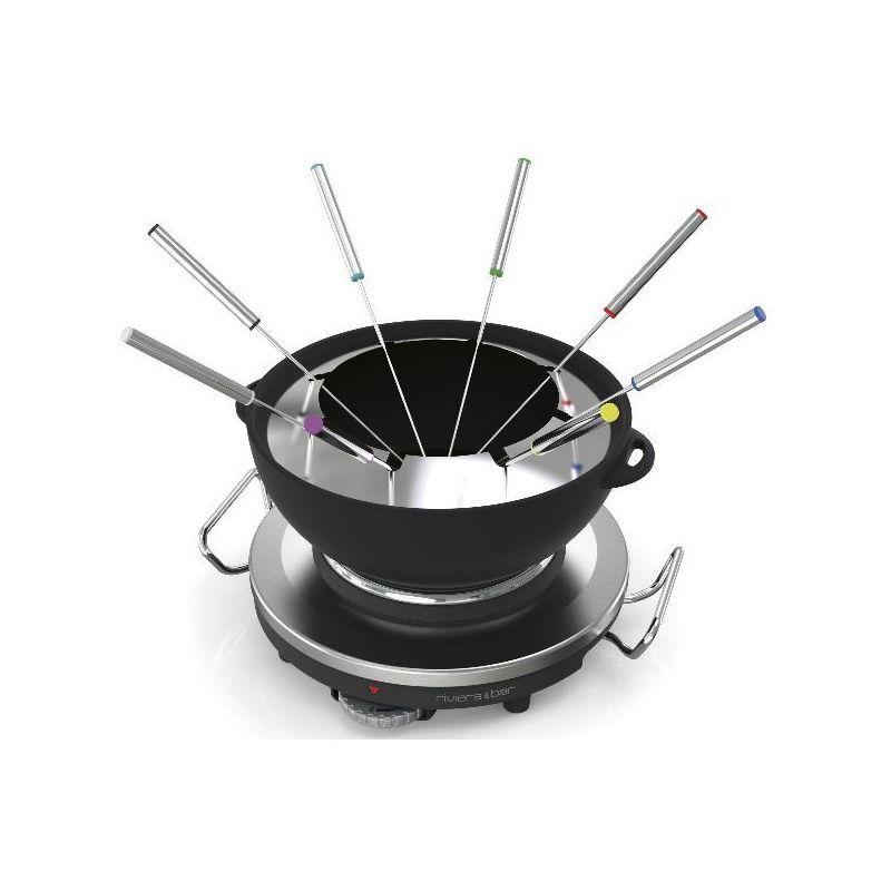 Riviera & bar fondue & réchaud électrique - qfd340