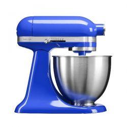 KITCHENAID Mini Robot pâtissier 3.3 L sur socle Bleu Saphir - Artisan - 5KSM3311XETB