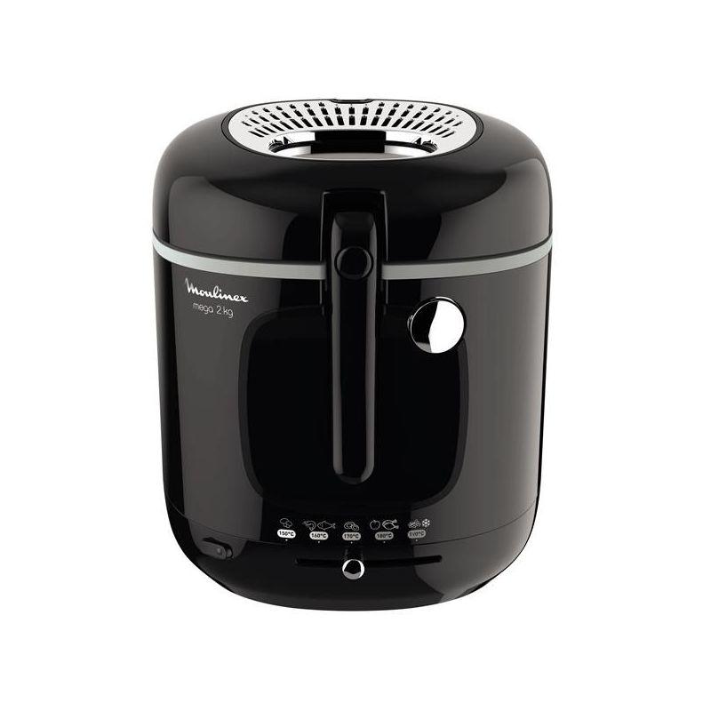 Moulinex Friteuse xxl noire - mega 2 kg - am480870