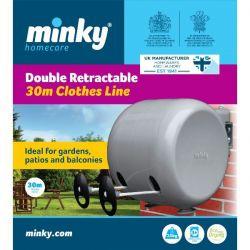 MINKY Séchoir enrouleur 30 mètres - Roll System