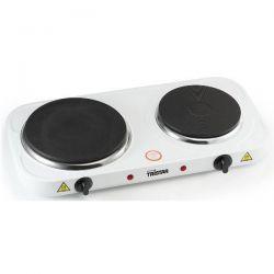 TRISTAR Réchaud électrique Blanc 2 foyers - KP-6245