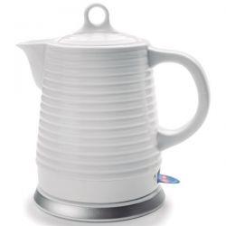 LACOR Bouilloire 1.3 L céramique blanche - 69276