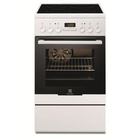 ELECTROLUX - cuisiniere vitroceramique EKC54350OW