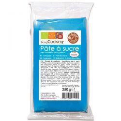 SCRAPCOOKING Pâte à sucre arôme vanille 250 g Bleue