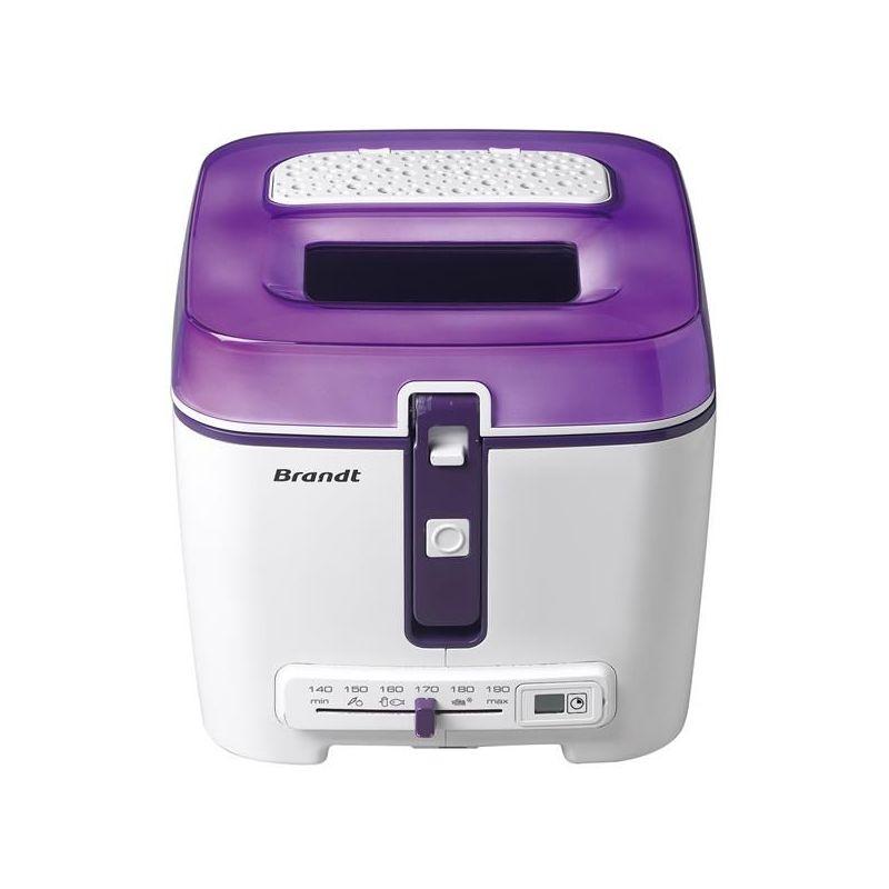 Brandt Friteuse 1.2 kg violet & blanc