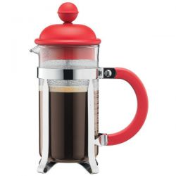 BODUM Cafetière à piston 3 Tasses Rouge - Caffettiera Colors